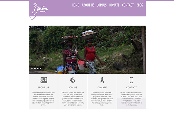 The Hawa Project | Website