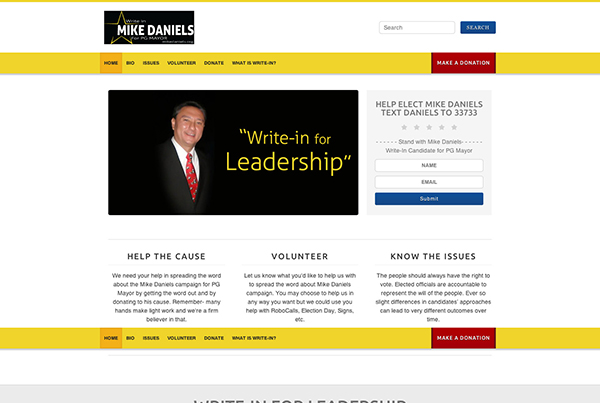 Mike Daniels | Website