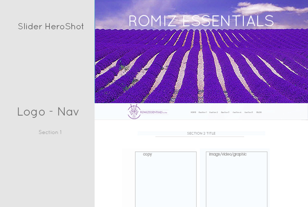 Romiz Essentials | Web Design