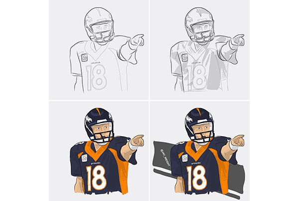 Peyton Manning | Illustration