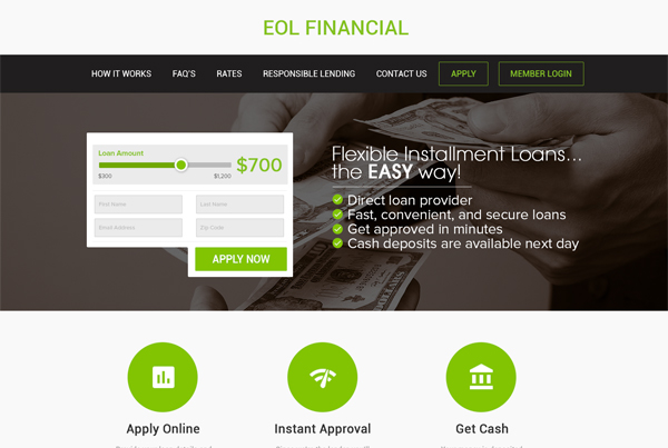EOL Financial | Web Design